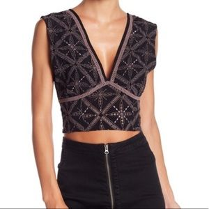 Free People Tell Me About It Crop Top
